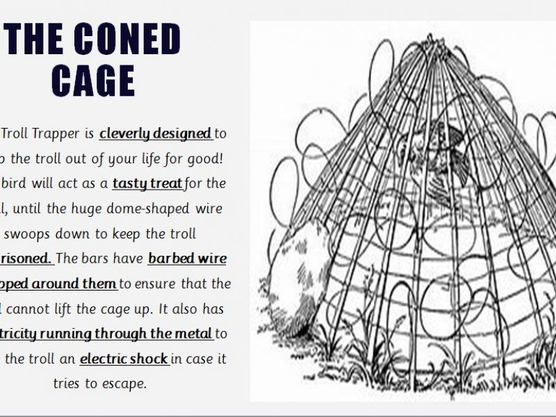 coned-cage